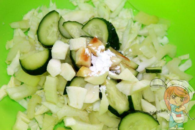 Немного стевии в салат