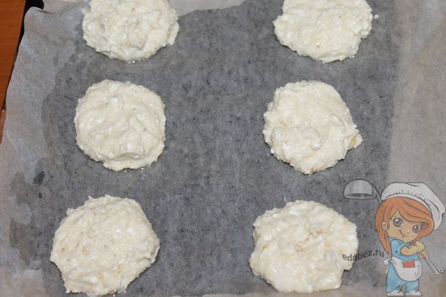 Делаем заготовки из печенья