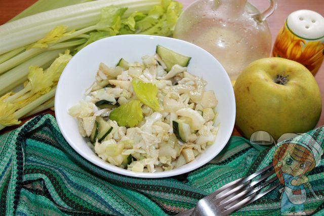 Очищающий салат Щетка для кишечника