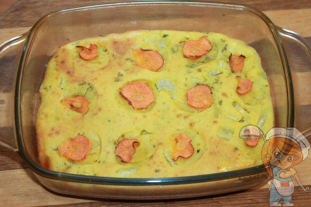 Пирог с сельдереем и морковью - рецепт с фото