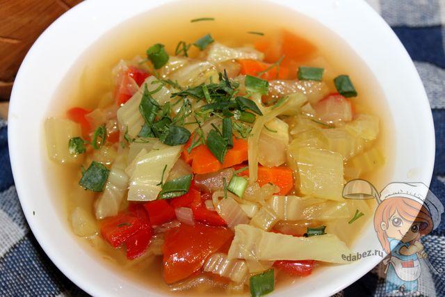 Боннский суп для похудения - рецепт с фото