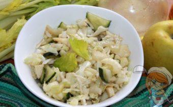 Салат щетка для похудения - рецепт с фото