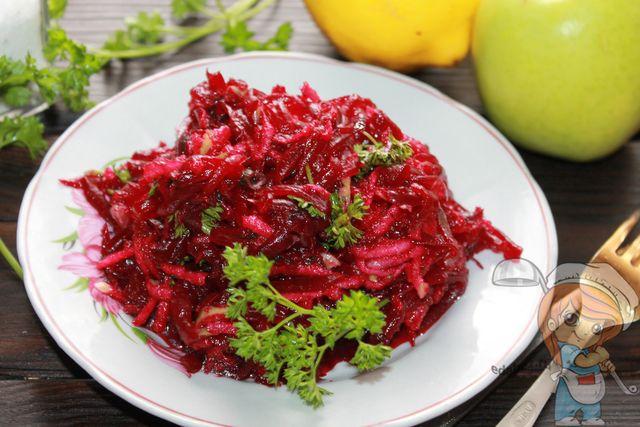 Салат пестрый - пошаговый рецепт приготовления