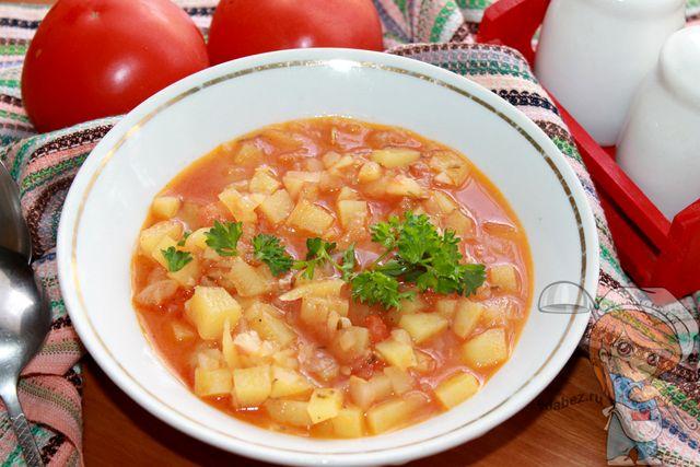 Суп Айнтопф - классический рецепт