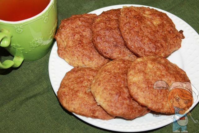 Печенье с бананом без глютена и сахара