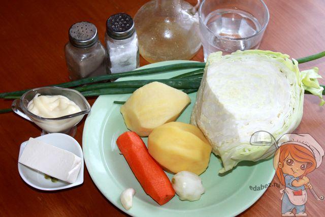 Продукты для тарталеток из картофеля