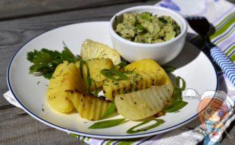 Картофельный салат с авокадо