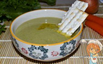 суп из зеленого горошка при гастрите - рецепт с фото