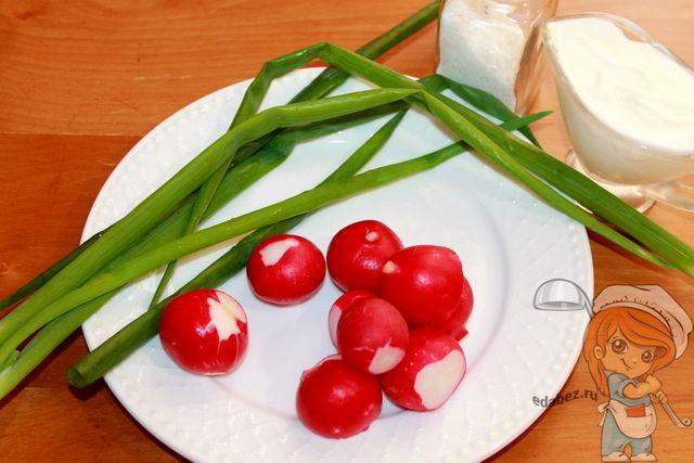 Сметанный соус: ингредиенты