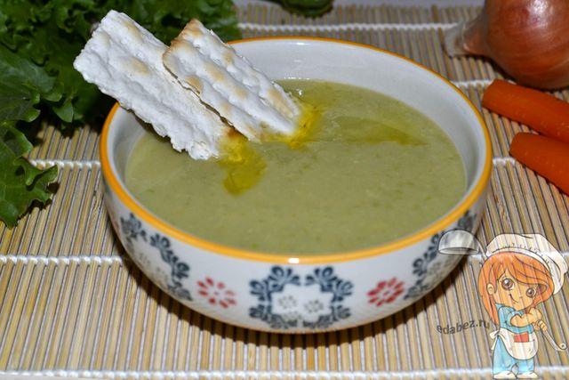 Суп из зеленого горошка без мяса