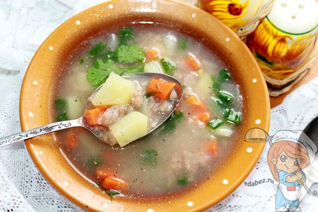 Суп затируха - рецепт с фото