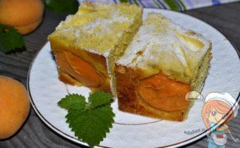 Рецепт как приготовить шарлотку с абрикосами