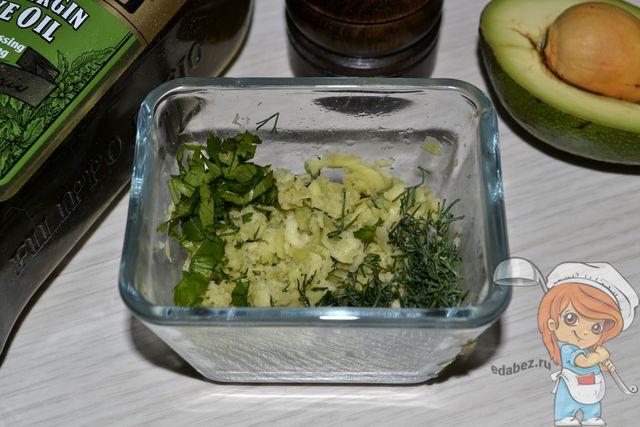 Заправка для картофельного салата