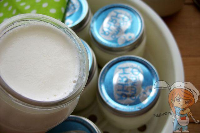 Проверяем йогурт на готовность