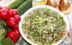 Сыроедческая окрошка - рецепт с фото