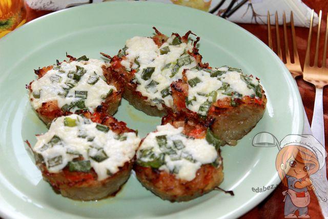 Картофельные тарталетки с начинкой - рецепт с фото