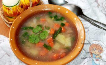 Суп затирка - рецепт с фото