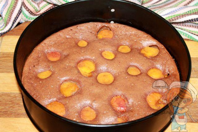 Выпекаем абрикосовый пирог