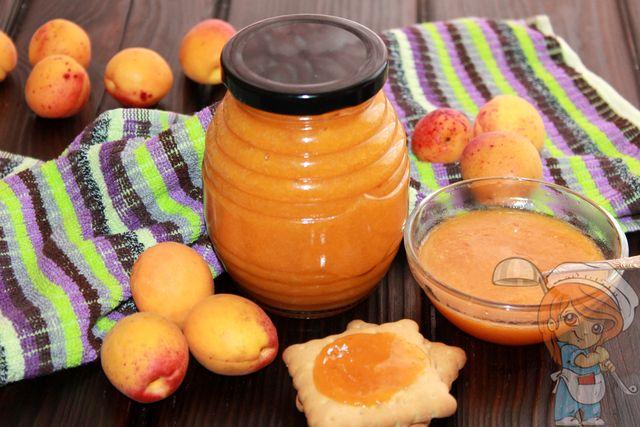 Абрикосовый джем на зиму - рецепт с фото