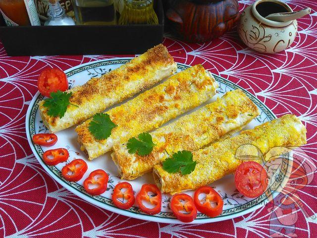 Сырные палочки в панировке