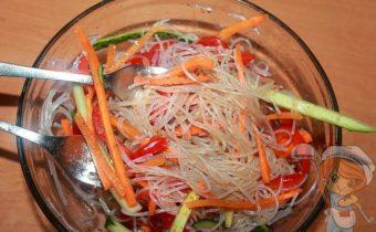 Фунчоза по-корейски - рецепт с фото
