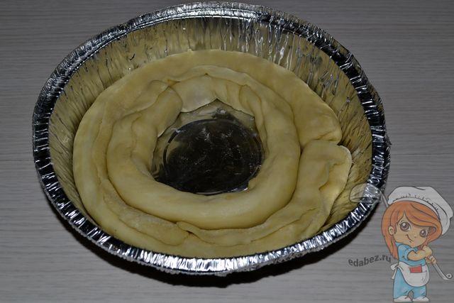 Заполняем форму колбасками