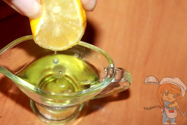 Масло для похудения лимон