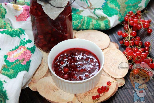 Конфитюр из красной смородины: как сварить и приготовить на зиму