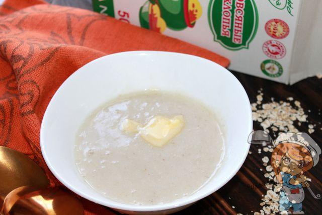 Овсяный суп - диетический рецепт