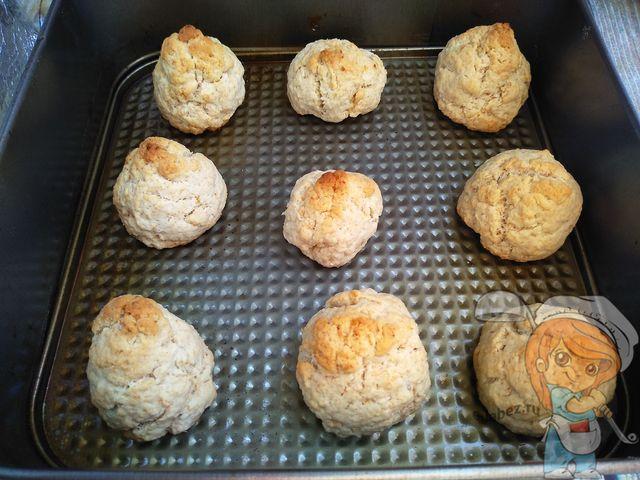 Запекаем кокосовое печенье