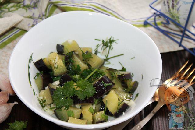 вкусные маринованные баклажаны - пошаговый рецепт
