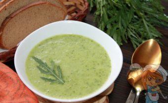 суп пюре из рукколы