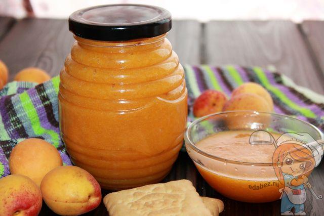 Джем из абрикосов на зиму - пошаговый рецепт