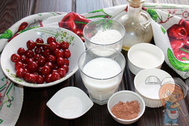 Ингредиенты для выпечки кексов