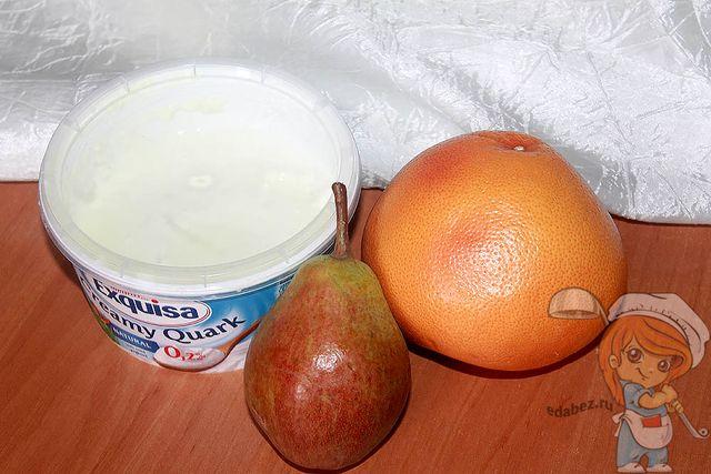 Продукты для смузи с грейпфрутом