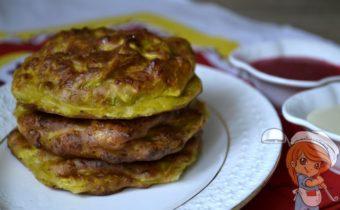 Оладьи из тыквы и творога, рецепт с фото