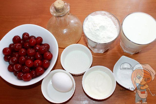 Продукты для пирожков в духовке
