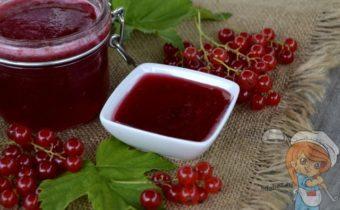 Желе из красной смородины, рецепт с фото