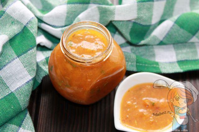 Ткемали из абрикосов, пошаговый рецепт