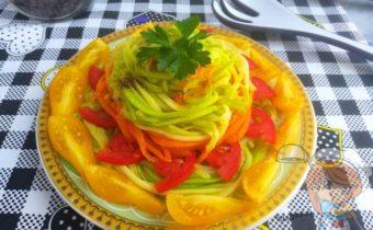 Спагетти из кабачков, рецепт с фото