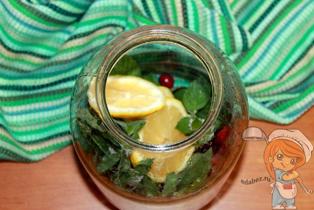 Добавляем лимон