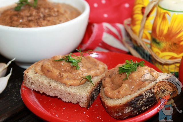 Соус из баклажанов, рецепт с фото