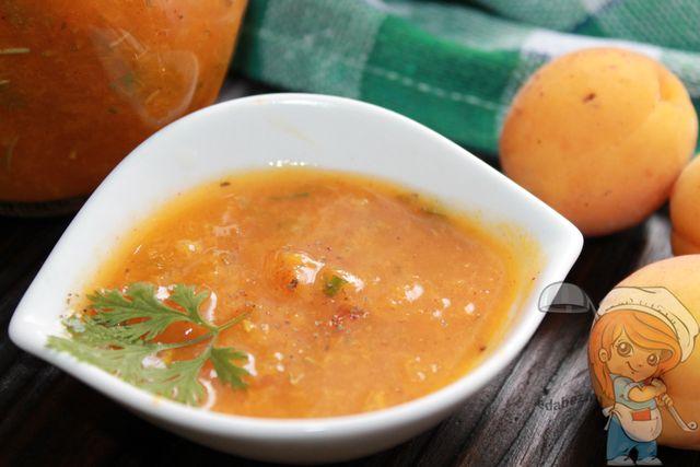 Классический рецепт ткемали из абрикосов