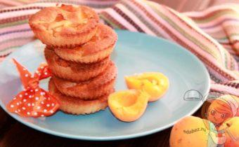 кексы с абрикосами, рецепт с фото
