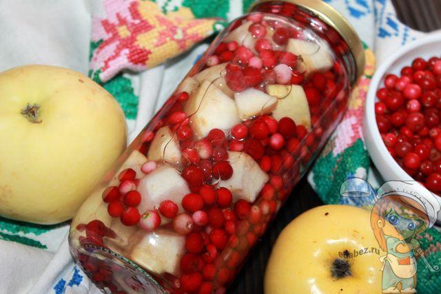 Моченая брусника, рецепт на зиму