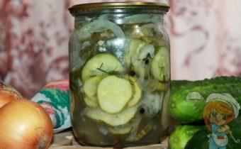 Нежинский салат на зиму, рецепт с фото