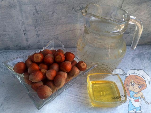 Ингредиенты для растительного молока