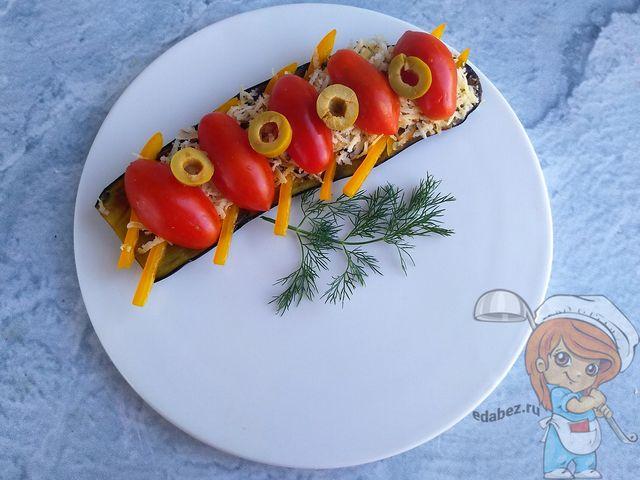 Пп бутерброд с баклажаном