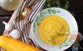 пюре из кабачков, рецепт с фото