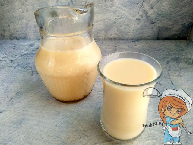 Молоко из фундука, рецепт в домашних условиях